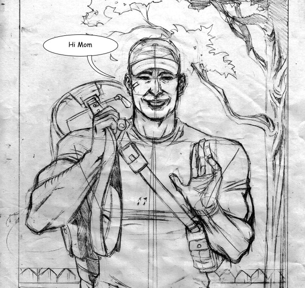 Pencils for Death's Life Ch 3