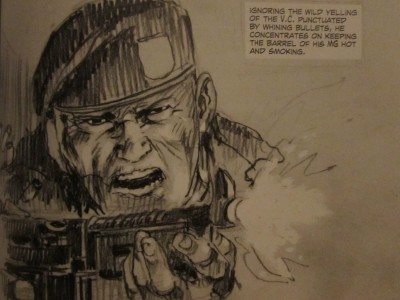 Dong Xaoi, Vietnam 1965 by Joe Kubert