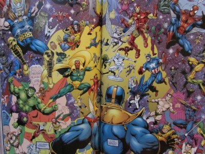 Marvel : The End by Jim Starlin