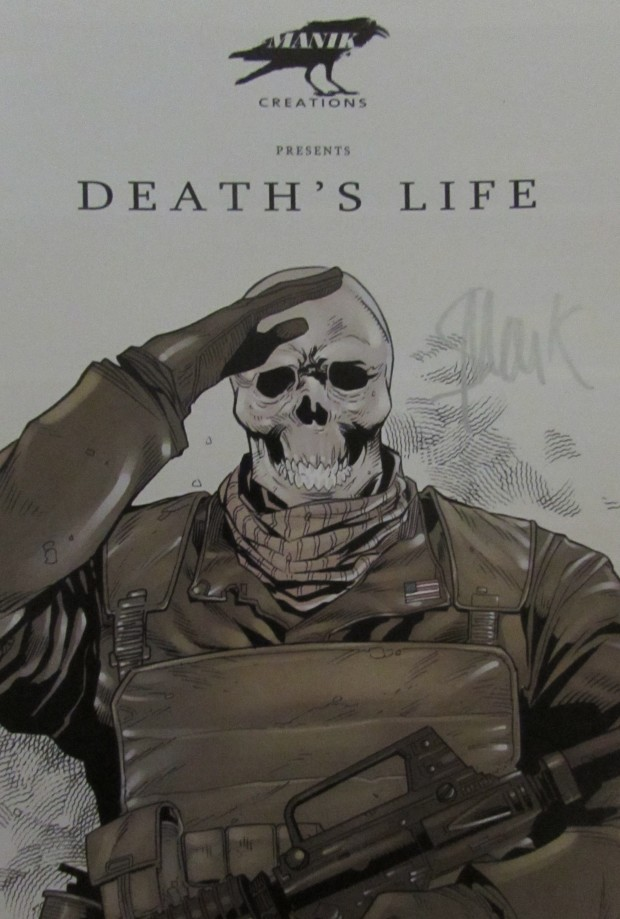 Death's Life Autographed Ch 1