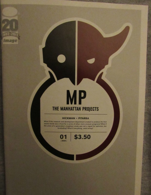 Manhattan Projects by Jonathan Hickman