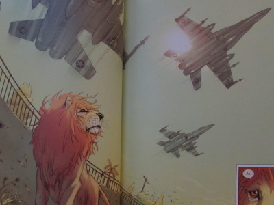 The Pride of Baghdad by Brian K. Vaughan