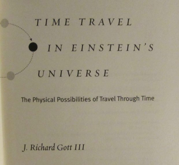Time travel in Einstein's Universe by J. Richard Gott