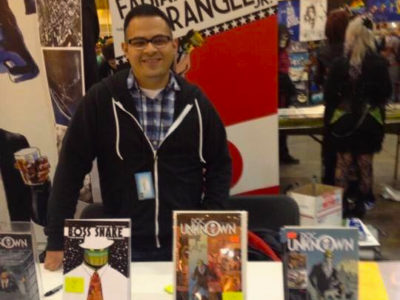 Interview with Fabian Rangel Jr writer of Space Knights