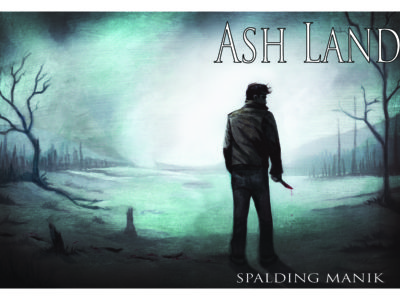 Cover for My New Novel Ash Land